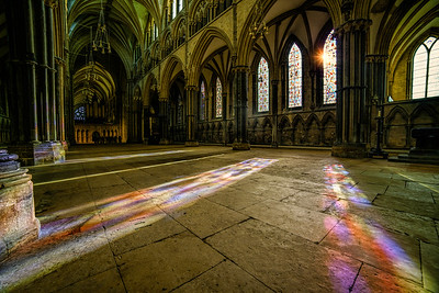 Lincoln Cathedrals Light Show by David Stoddart