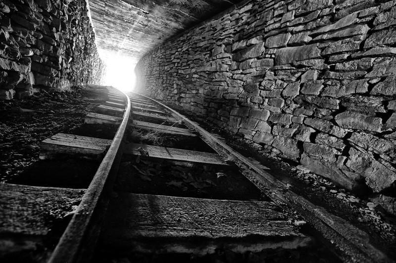 Train Tunnel - Dogpatch, Arkansas