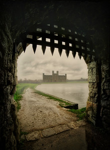 Leeds Castle Drawbridge by David Stoddart