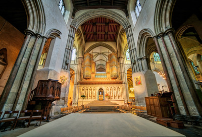 Rochester Cathedral HDR by David Stoddart