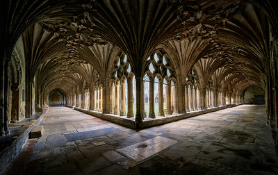 Canterbury Cathedral Cloisters by David Stoddart