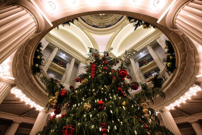 Oh Christmas Tree - Arkansas State Capital
