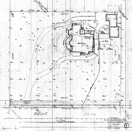 Architectural Plans of the Magic Chef Mansion