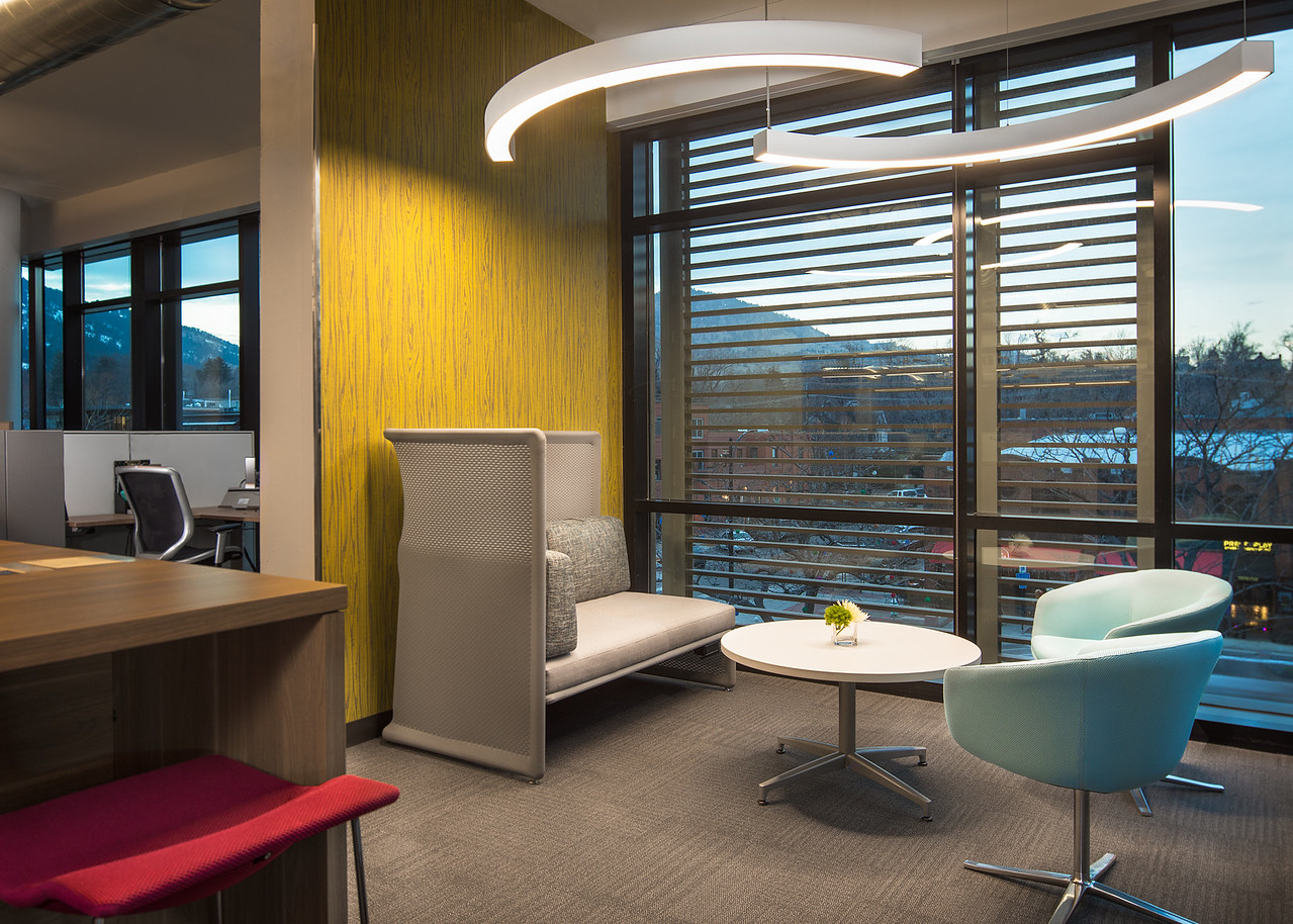Architectural Photography of Solidfire, in Boulder, CO.  Shot for Elsy Studios