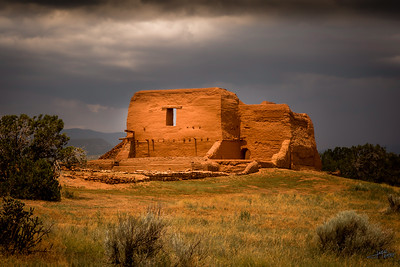 Pecos Church Ruins
