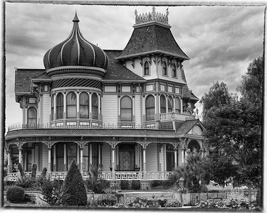 Morey Mansion B&W