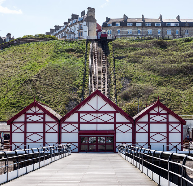 Funicular - Saltburn-by-the-Sea North Yorkshire UK 2016