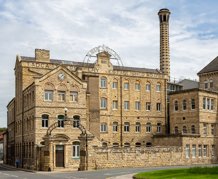 John Smith's Brewery - Tadcaster North Yorkshire UK 2014