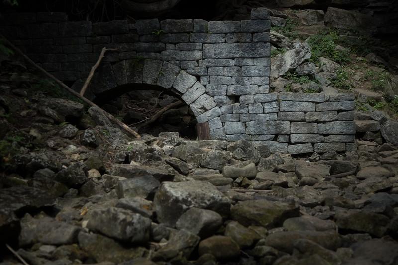 Ruins at Hilton Falls