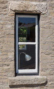 Window and Lamp - Middleham North Yorkshire UK 2017