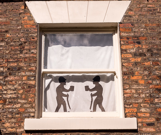 Window at Thirsk - North Yorkshire UK 2016