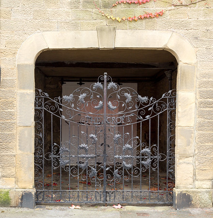 Gate at Masham - North Yorkshire UK 2014