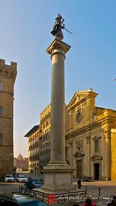 Piazza di Santa Trinita, Firenze, Italy