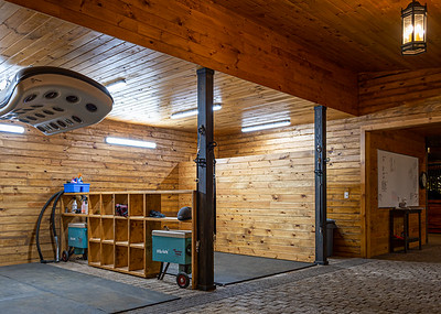 Iron Horse Grooming Area