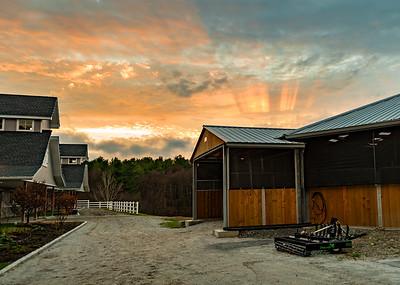 Iron Horse Sunset