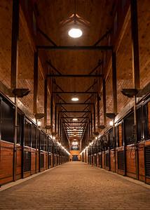 Iron Horse Stalls Far End