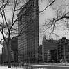 Flatiron Building in Winter
