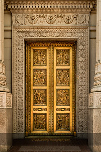 Ornate Bank Doors
