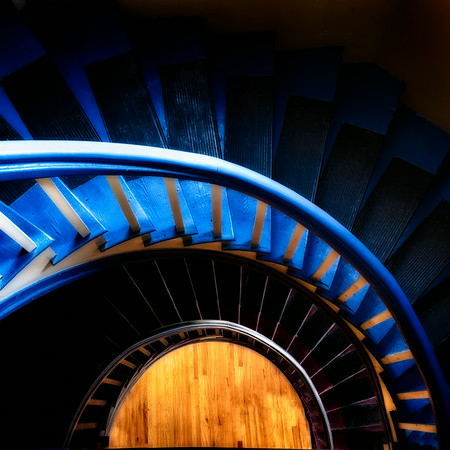 Spiral Staircase - Saint John, NB, Canada<br /> © Sharon Thomas