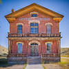 The Hotel Meade is remarkably preserved at the Bannack State Park near Dillon, Montana.  Some say this once lavish, now abandoned, hotel of the 1800's is haunted.