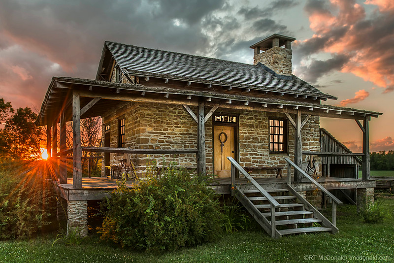 Stevens Stone Home, Rochester, IL