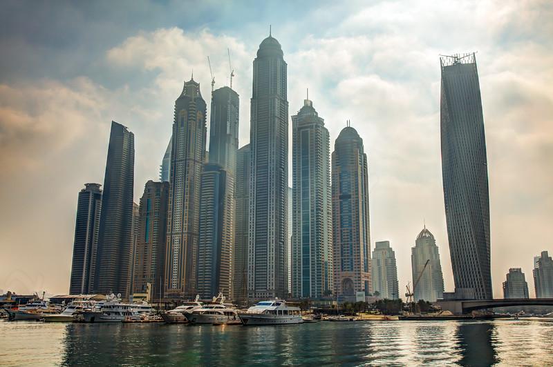 Dubai Marina, HDR
