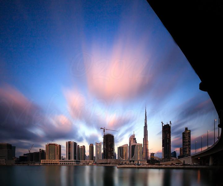 Burj Khalifa Long Exposure 1