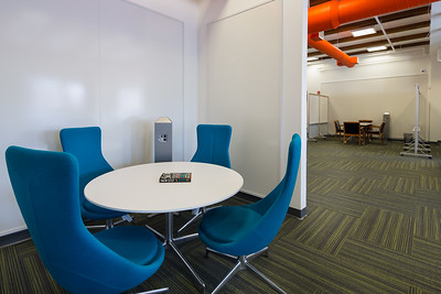 Open Office Collaboration Space