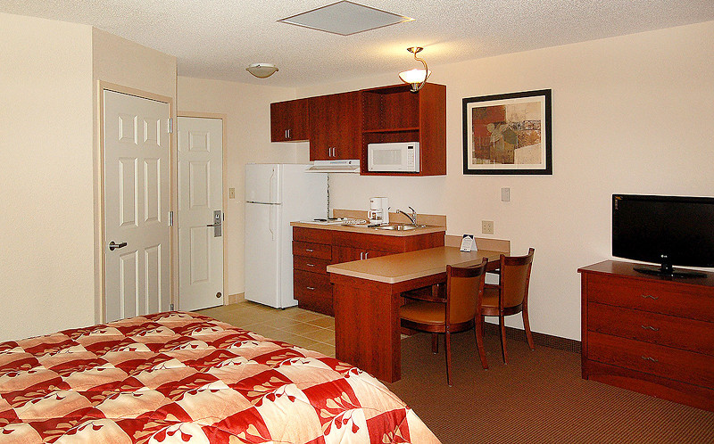 Suburban Model Guest Room
