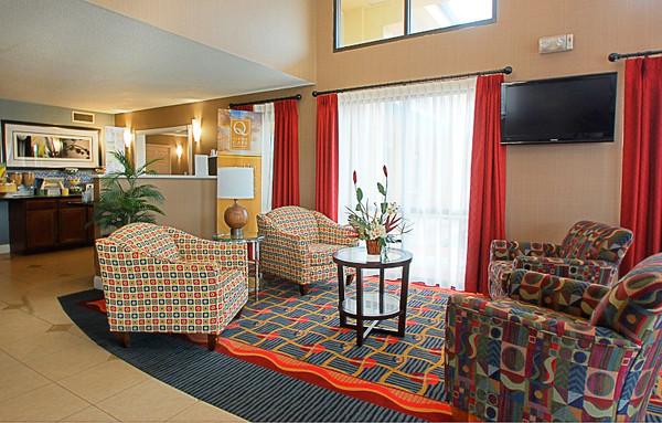 Lobby - Quality Inn Milledgeville, GA