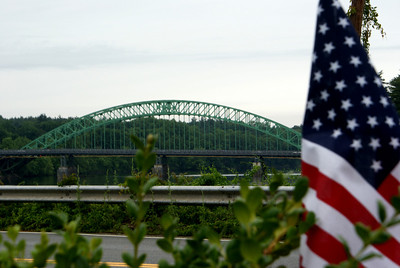 Flag Span: The Tyngsboro Bridge - Tyngsboro, MA.