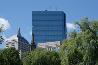 Hancock Building and Tower: The Hancock Buliding (left) and the Hancok Tower on the right
