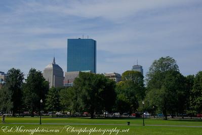 Skyline: Taken from the Boston Commom