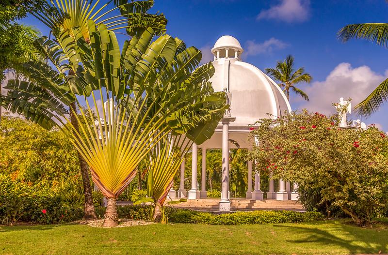 Gardens in The Dominican Republic.