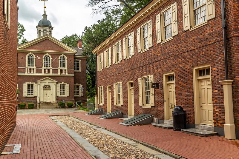 Carpenters Hall, Chestnut St  Philadelpia PA.