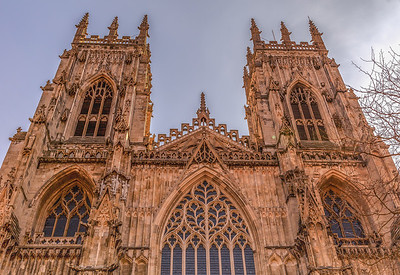 Western Facing Towers of York Minster