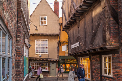 The Little Shambles, York, UK.