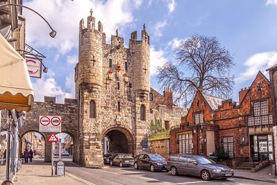 Micklegate, York, England
