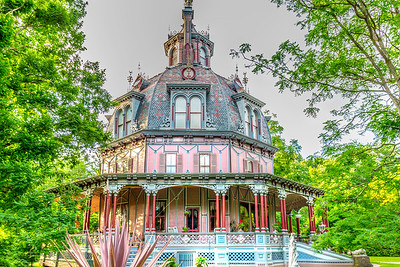 An HDR (High Dynamic Range) Shot of the Octagon House.