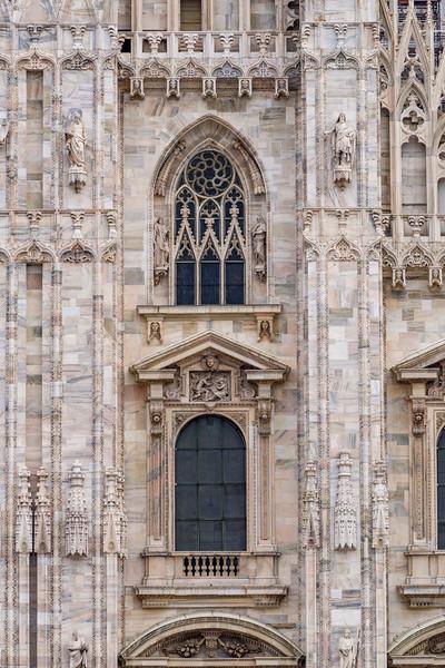 The Gothic Cathedral, Duomo di Milano.