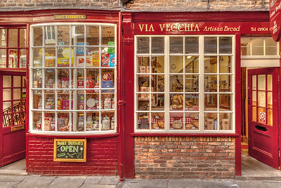 A Shop on The Shambles York, UK.