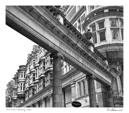 Sicilian Avenue - Bloomsbury, London