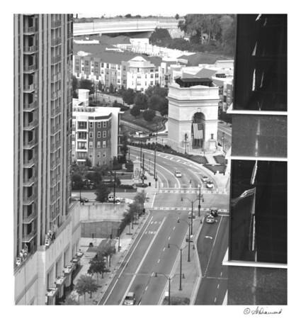 The Millenium Gate - Atlantic Station, Atlanta