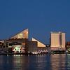 Inner Harbor at Sunset<br /> Baltimore, Maryland<br /> USA