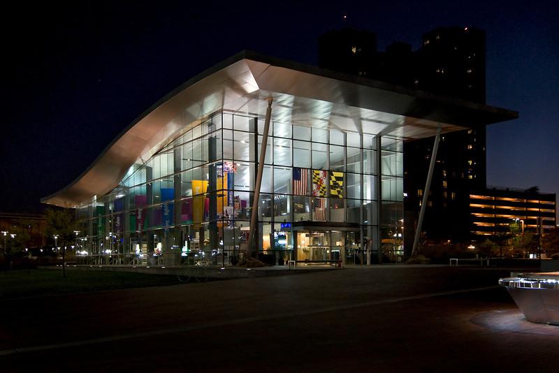 Inner Harbor Welcome Center<br /> Baltimore, Maryland<br /> USA