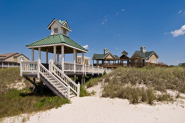 Beach Pavilion<br /> Oak Island, North Carolina<br /> USA
