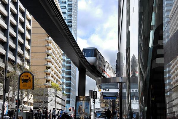 Downtown Sydney Monorail - Australia