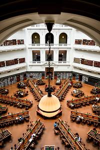 Melbourne Library, Australia