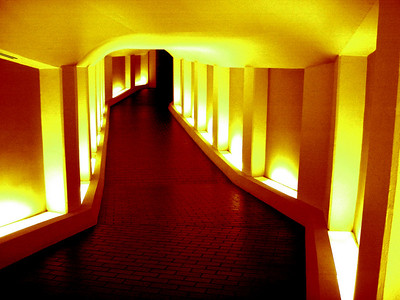 Tunnel to the Alley Theatre YR
