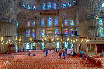 """Blue Mosque""   Istanbul  Turkey"